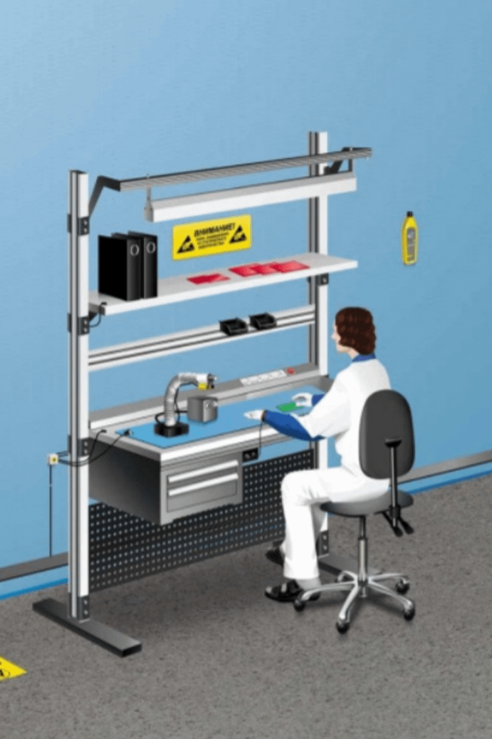 EPA area - ESD workbenches