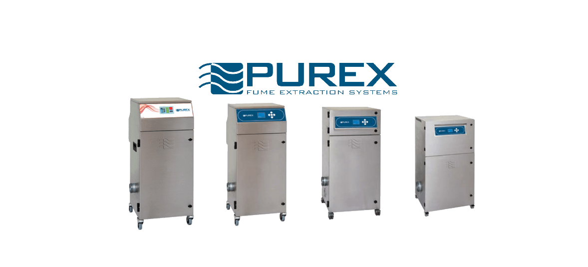 Fume extraction systems from Purex