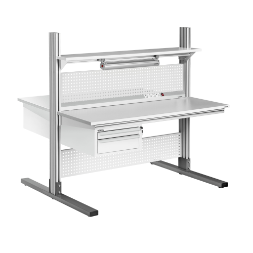 ALPHA ESD workbenches