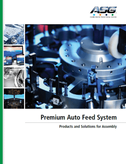 Auto-Feed system Catalogue