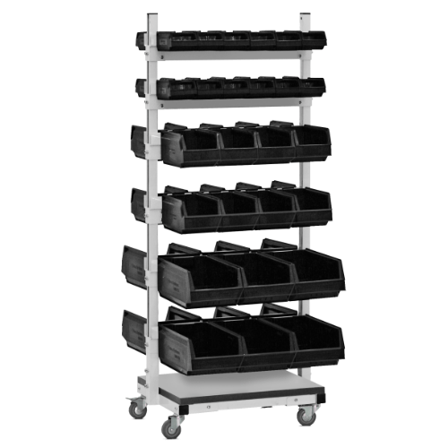 SKM dual movable trolley